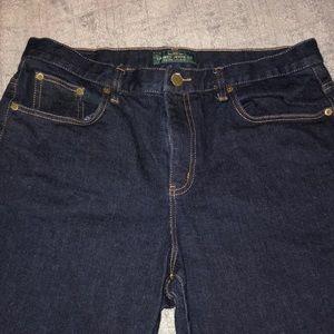 Lauren Ralph Lauren Jeans Sz 14